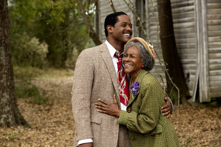 Blair Underwood and Cicely Tyson