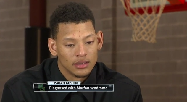 isaiah austin marfan syndrom espn nba interview - isaiah austin marfan syndrom espn nba interview