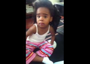 little girl talks to camera - little girl talks to camera