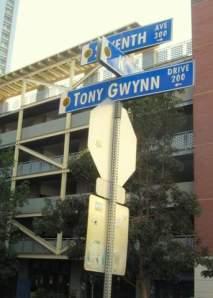 tony gwynn drive - tony gwynn drive