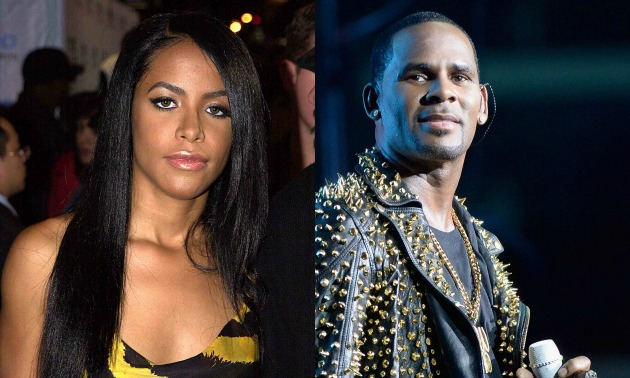 Aaliyah Biopic To Expl...R Kelly And Aaliyah Child