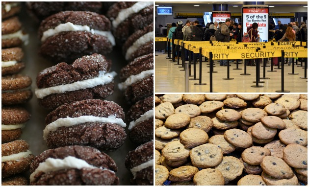 cookies airport getty
