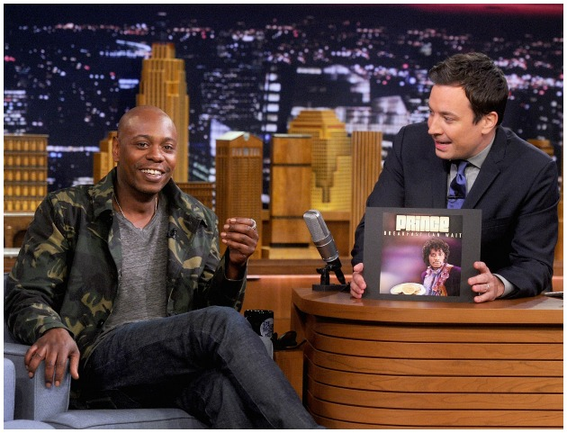 Dave Chappelle Jimmy Fallon  Tonight Show Getty