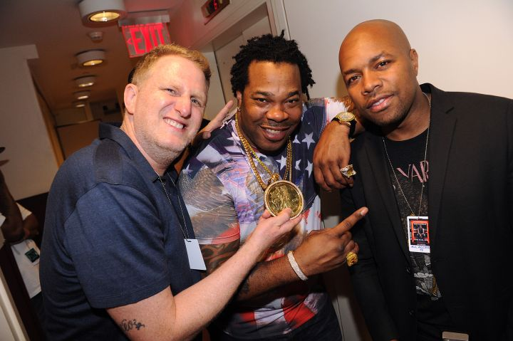 Michael Rapaport, Busta Rhymes and D-Nice
