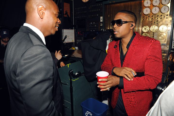 Dave Chappelle and Nas