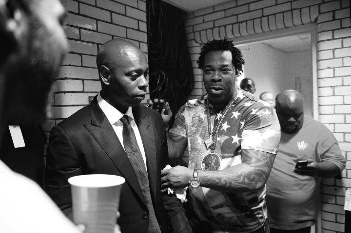 Dave Chappelle and Busta Rhymes