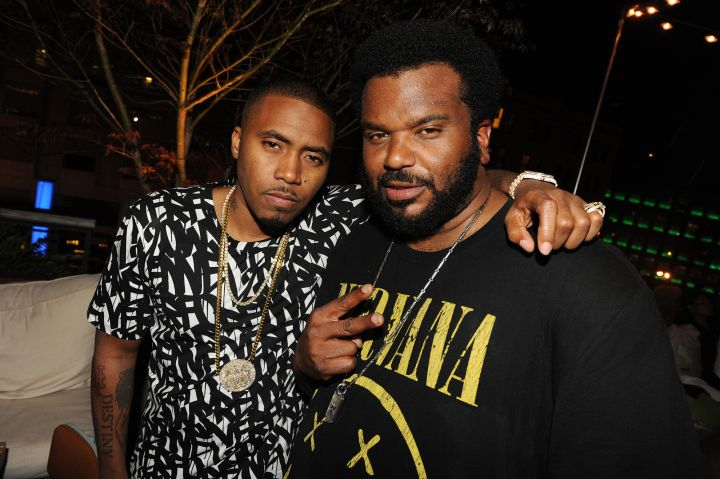 Nas and Craig Robinson