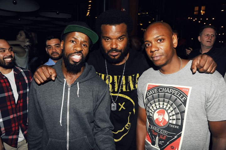 Craig Robinson and Dave Chappelle