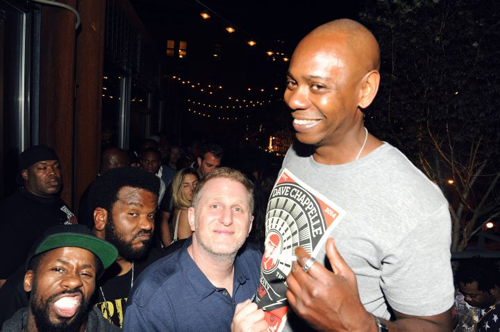 Michael Rapaport and Dave Chappelle