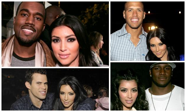 Kim Kardashian's Black Boyfriends