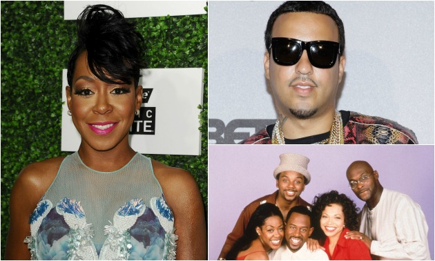 Tichina Arnold French Montana Martin Cast