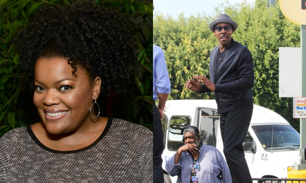yvette-nicole-brown-arsenio-hall-getty