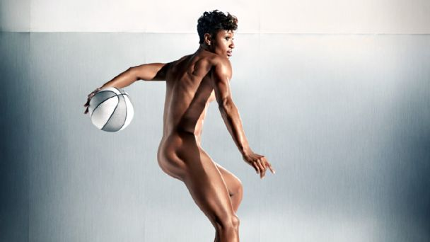 Angel McCoughtry ESPN Body Issue 2014