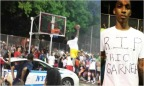 Kid Dunks Over Police Car In Honor Of Eric Garner