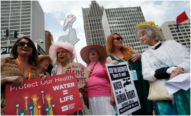 Detroit Water Protests