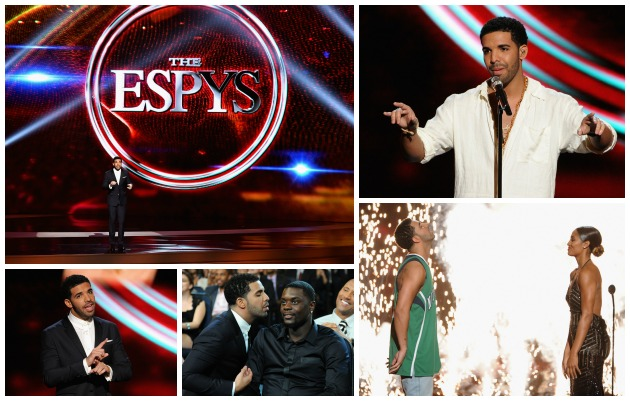Drake ESPYS Getty
