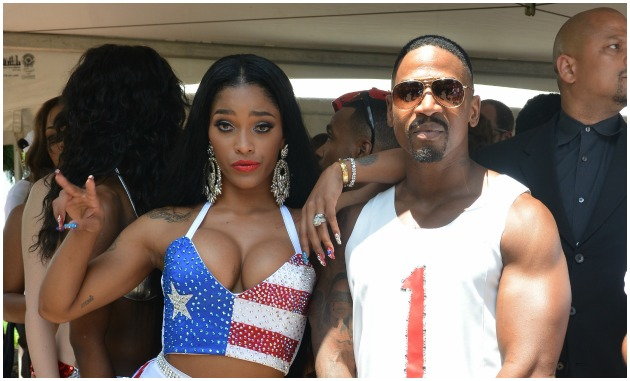Joseline And Stevie J Getty