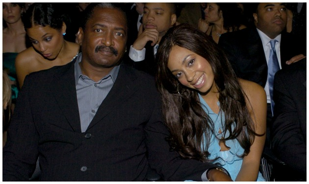 Mathew Knowles Solange Getty