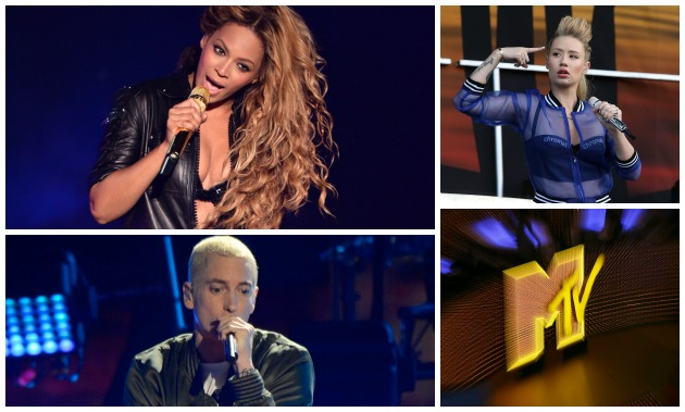 MTV 2014 VMA Nominations Getty