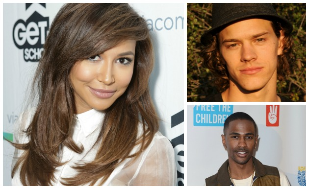 Naya Rivera Ryan Dorsey Big Sean Getty