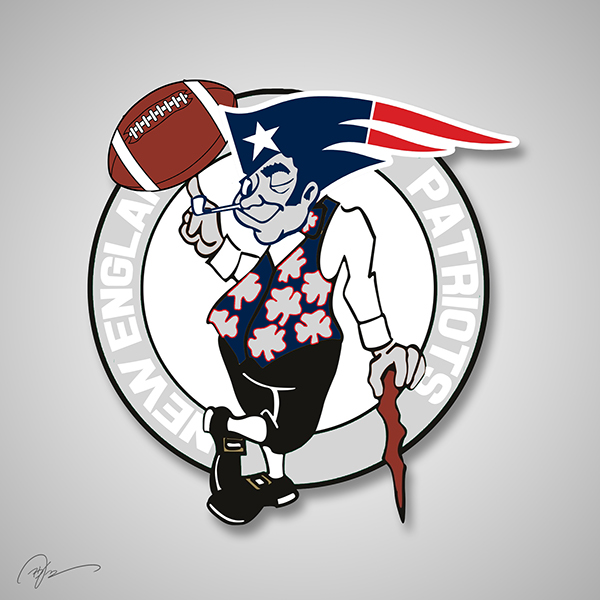 New England Patriots X Boston Celtics