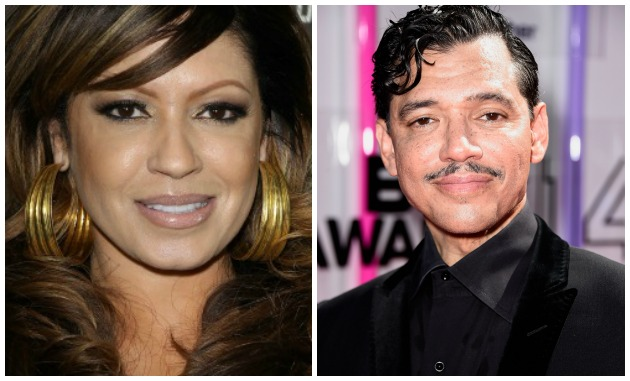 Pebbles and El Debarge Getty