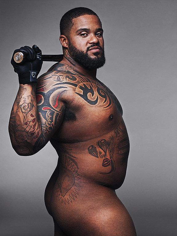 Prince Fielder ESPN Body Issue 2014