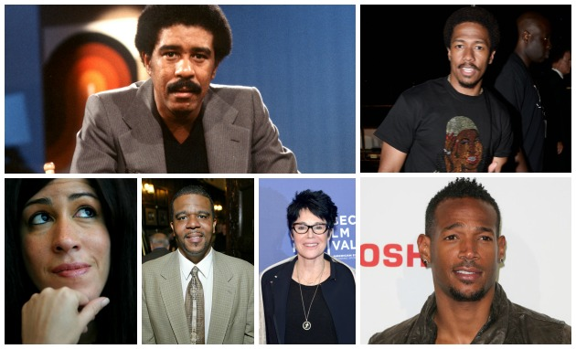 Richard Pryor Family Nick Cannon Marlon Wayans Getty