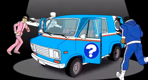 mike tyson mysteries van