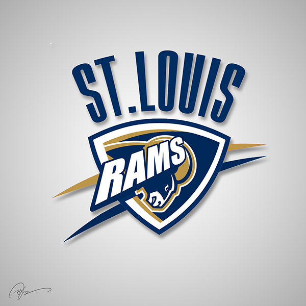 St. Louis Rams X Oklahoma City Thunder