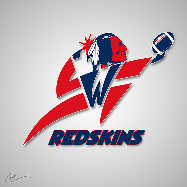 Washington Redskins X Washington Wizards