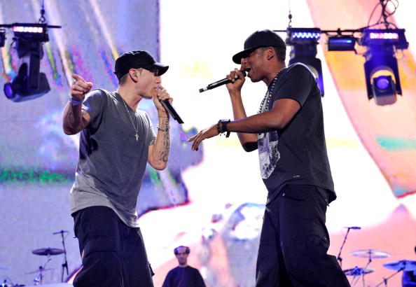 "Eminem and Jay-Z ""Home & Home"" Concert - Detroit"