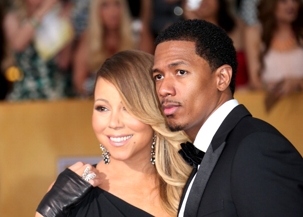 Nick Cannon + Mariah Carey