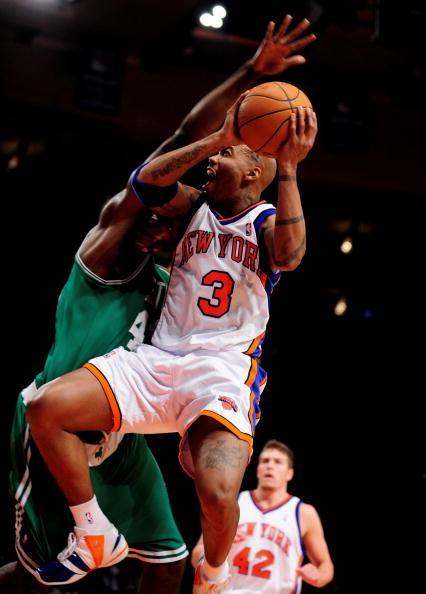 New York Knicks vs. Boston Celtics at Madison Square Garden.