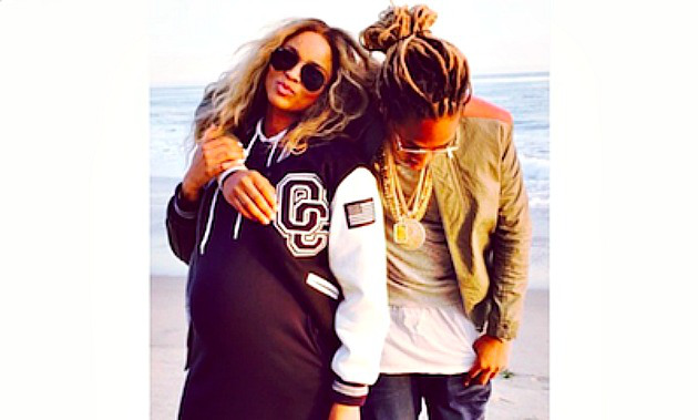 Ciara and future on instagram