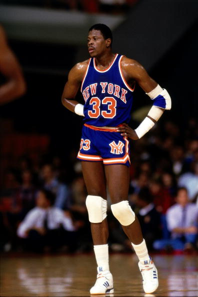 Patrick Ewing takes break v Hawks