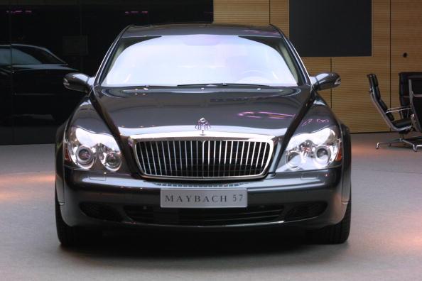 Photo of Rickey Smiley Maybach 57 - car
