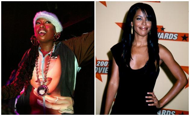 Missy Elliott Aaliyah Getty