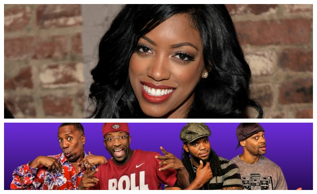 Porsha Williams Rickey Smiley Morning Show