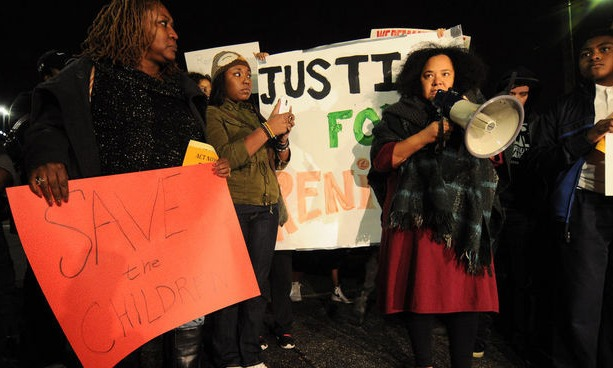 renisha mcbride rally