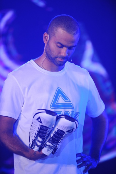 Tony Parker Attends Peak's Basketball Activity In Beijing