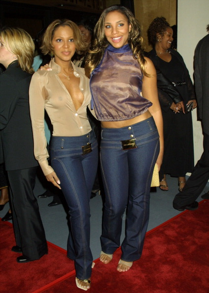 BEFORE: Tamar Braxton (with Toni Braxton)