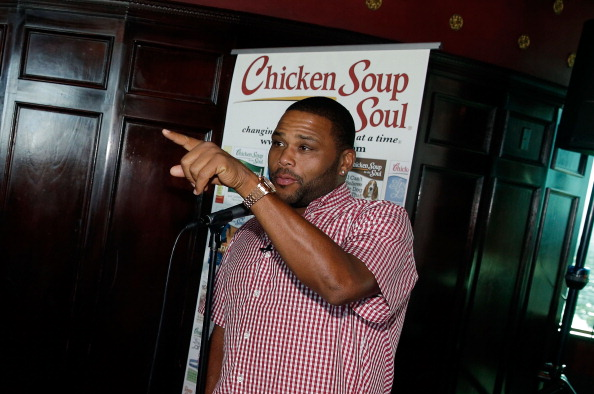 Actor Anthony Anderson Joins Chicken Soup For The Soul To Celebrate Its Latest Book Titles, Pet Food Line And More