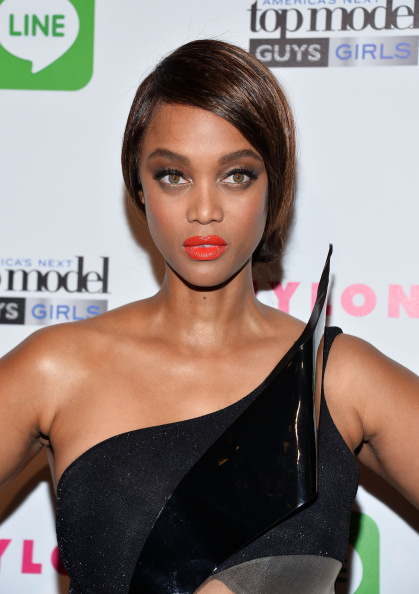AFTER: Tyra Banks