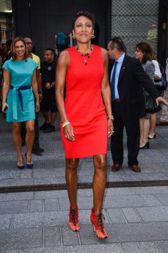 Celebrity Sightings In New York City - September 03, 2014