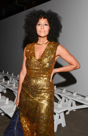 Tracy Reese - Front Row - Mercedes-Benz Fashion Week Spring 2015