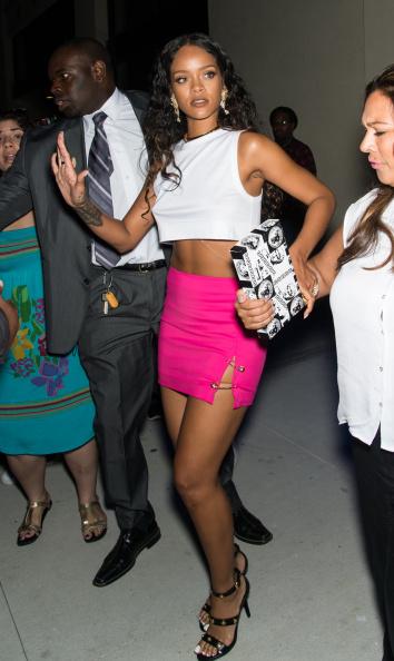 Celebrity Sightings In New York City - September 7, 2014