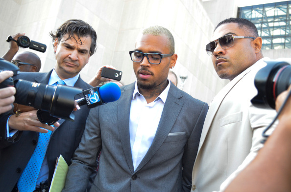 Chris Brown goes to jail