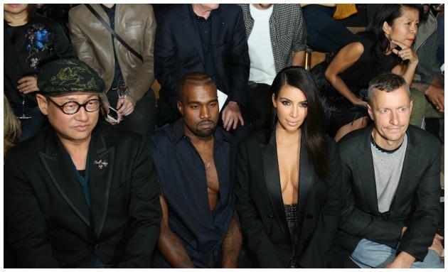 Kim Kardashian And Kanye West Getty