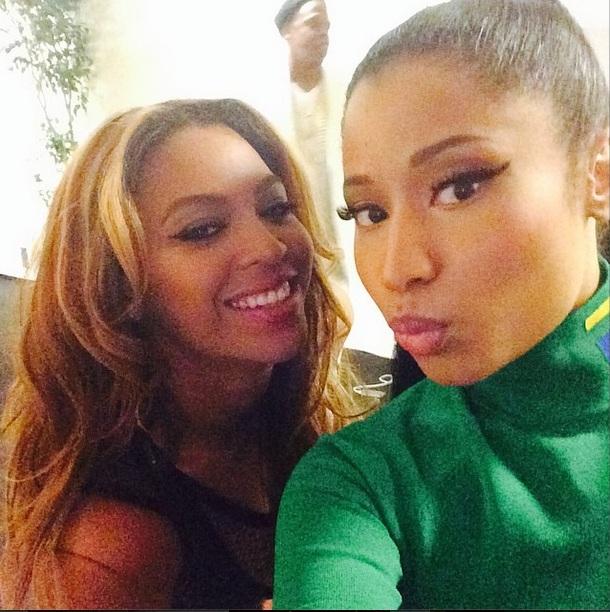 Nicki Minaj & Beyonce IG
